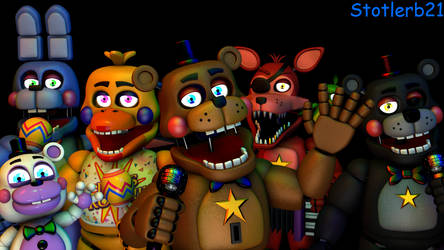 (SFM) ThePixel's Rockstars and Helpy Models by stotlerb21