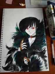 Crow by Gotashi-Chan