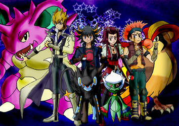 Pokemon 5D's by oneandonlyLLAT