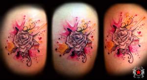 Rose Tattoo by Robert-Greg-Voulgari