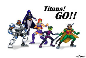 Teen Titans GO! by bot-chan