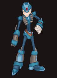 Megaman 'L' by AirWolfe