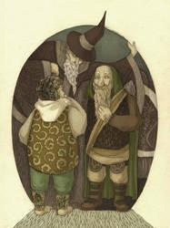 Hobbit by cvrnk