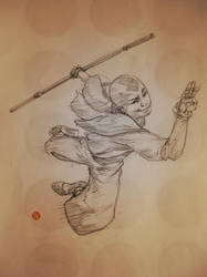 Avatar sketch by 2depaus