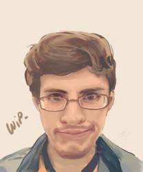 Portrait- Chucho Calderon- wip by Kyotox33JDI