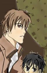 Conrad and Yuri KKMO by eien-chiharu