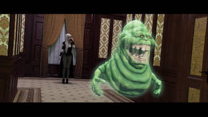 The Slimer by JohnFitzSquirrel