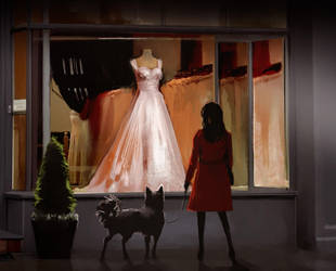 Evening Dress by white-nightingales