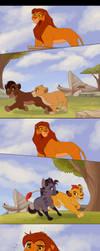 Simba's Dilemma by Kitchiki