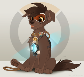 Tracer Pup by Kitchiki