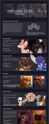 Commission Price Sheet 2018 by Kitchiki