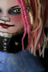 Goth Miss Muffet by shotzineff