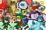 Zelda : Wind Waker of Time by SaintsSister47