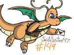 #149 Dragonite by SaintsSister47