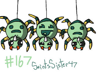 #167 Spinarak by SaintsSister47