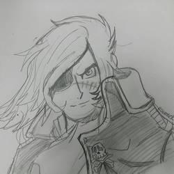 captain Harlock by rugdog