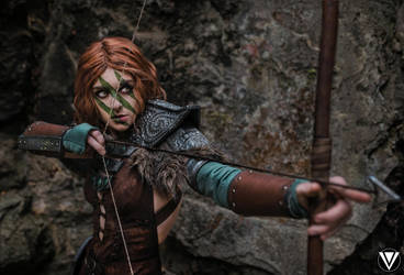 Aela the Huntress by AstroKerrie