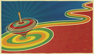 spinning top by canonto