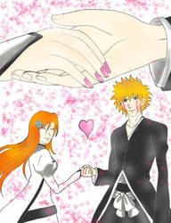 IchiHime:Reunited by MadeInHeavenFF15