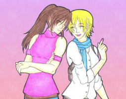 Claire And Sherry by MadeInHeavenFF15