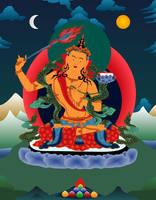 Bodhisattva Manjushri by JewelOfSong
