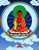Buddha Amitabha by JewelOfSong