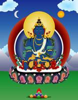 Buddha Akshobhya by JewelOfSong