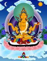 Bodhisattva Prajnaparamita by JewelOfSong