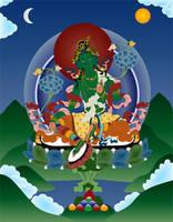 Bodhisattva Green Tara by JewelOfSong