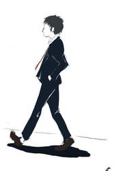 Adachi by MagpieMcGee