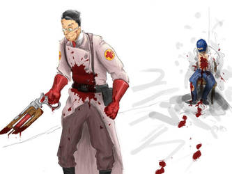 MORE BLOOD by MagpieMcGee