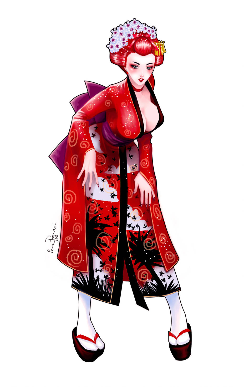 Ranma Geisha By LaraCaroline by sunny-temple on DeviantArt