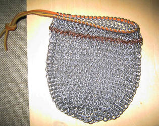 Chainmail Bag by marggarg