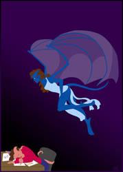 Gargoyle Muse by marggarg