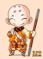 RPG Rule. Monk by MauroPeroni