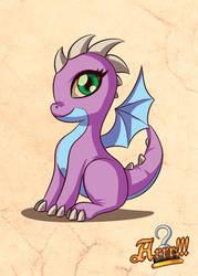 Arrr!!! - My Little Dragon by MauroPeroni