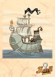 Arrr!!! - Ghost Ship by MauroPeroni