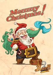 Arrr!!! - Merrrrrry Christmas! by MauroPeroni