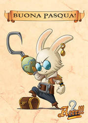 Arrr!!! - Buona Pasqua !!! by MauroPeroni