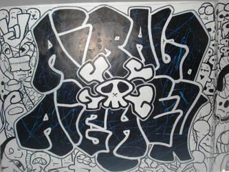 graffiti x doodle by aiRaLD22