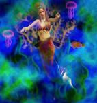 Mermaid Paradise by njrmdrsj