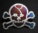 Skull and Cross Bones buckle by Vor4