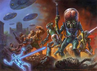 Mars Attacks by AlexHorley