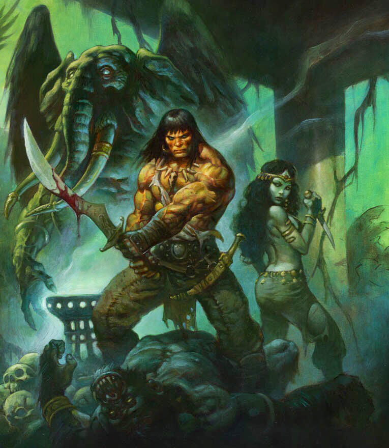 Conan the wanderer by AlexHorley