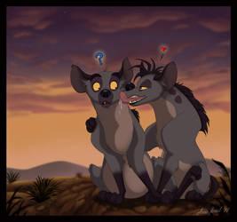 Hyena_Love by Anatoliba