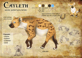 Cayleth Reference Sheet by Anatoliba
