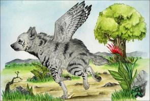 WingedDubbah by Anatoliba