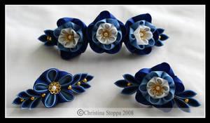 Blue Group by Kurokami-Kanzashi