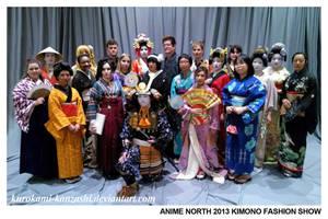Anime North 2013 - Kimono Fashion Show by Kurokami-Kanzashi
