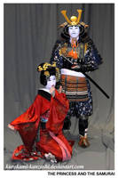 The Princess and the Samurai by Kurokami-Kanzashi